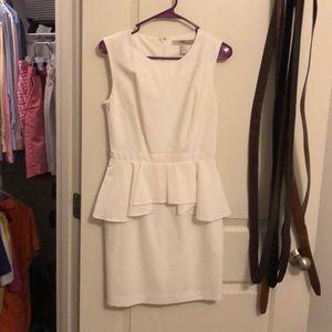 White dress size small